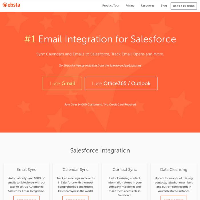 Ebsta For Salesforce – Recruiterstack by Instalent